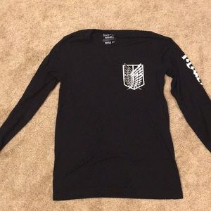 Attack On Titan Long Sleeve LIMITED TIME SALE !